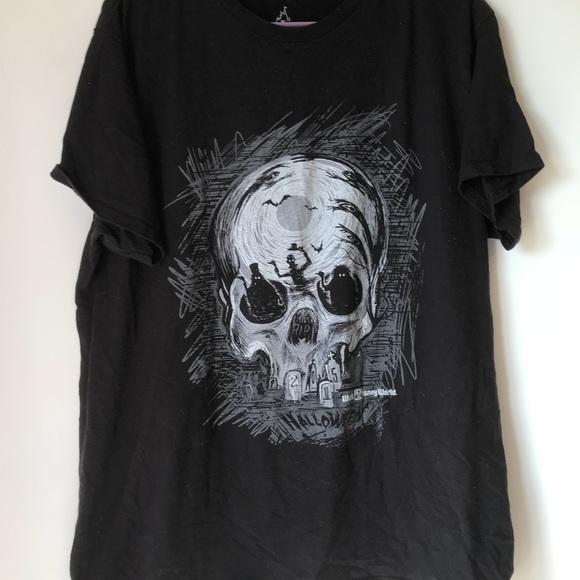 Disney Other - Haunted mansion ghost skull shirt Disney size XL